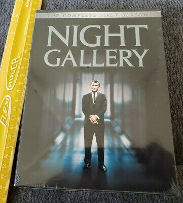 Night Gallery The Complete First Season NEW SEALED (DVD, 2004, 3-Disc Set)