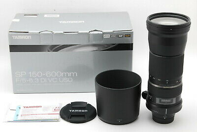 NEAR MINT Tamron SP 150-600mm f/5-6.3 Di VC USD for Nikon AF, Box from Japan