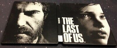 THE LAST OF US PS3 Playstation 3 Steelbook Steel Book USED Naughty Dog