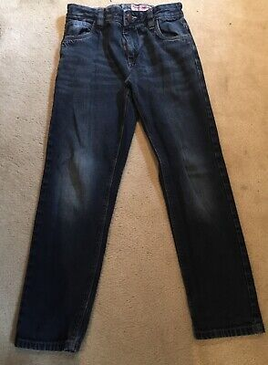 Boys Dark Blue Denim Jeans Next Age 11 Plus