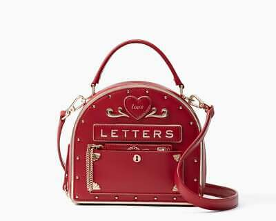 Kate Spade Yours Truly Mailbox Bag Red WKRU6871 NWT Gift Condition