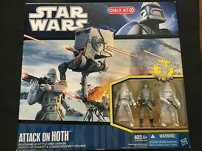 STAR WARS - ATTACK ON HOTH PLAYSET - New & Sealed - AT-ST & E-WEB Cannon