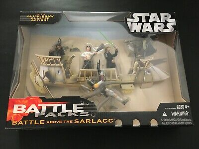 STAR WARS - BATTLE PACK - Battle above the Sarlacc - New & Sealed
