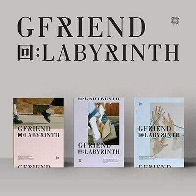 GFRIEND [回:LABYRINTH] Album CD+POSTER+Photo Book+Mini Book+2p Card+Film+etc+GIFT