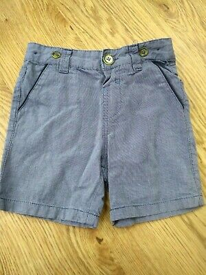 Ted Baker Chino Shorts blue boys size 2-3