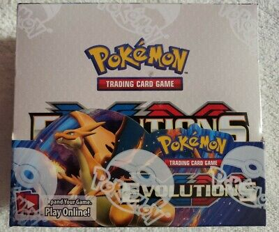Pokemon TCG: XY Evolutions Sealed Booster Box - Pack of 36