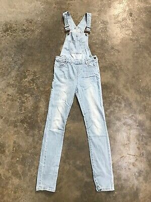 girls dungarees Age 13 Years 158cm New Look 915 Generation Blue