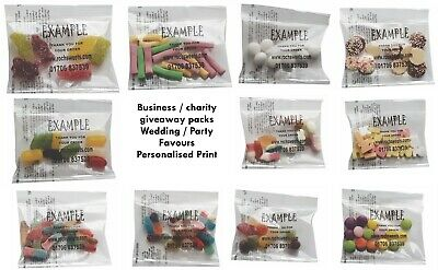 Printed Sweet Packs Business Expo Exhibition Corporate Gift 20g Halal