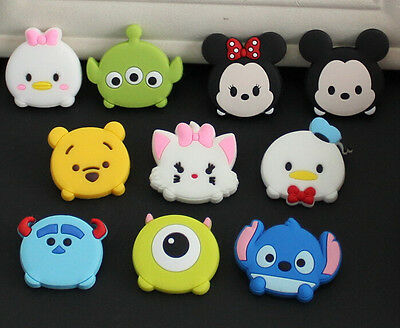 Lot tsum mickey minnie cartoon mixed Shoe Charms Fit Jibbitz Free shipping S-01