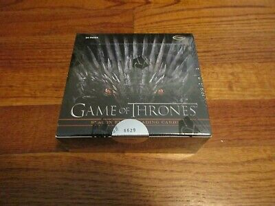2020 Game of Thrones Season 8 Factory Sealed Box w/ 2 Autographs Series Eight