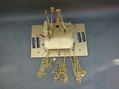 Vintage FHS 451-050H 94 cm clock movement with chains for repair or spares