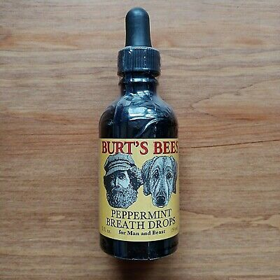 Burt's Bees Peppermint Breath Drops for Man & Beast Discontinued Rare Collectors
