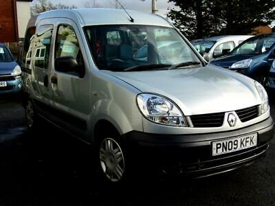Renault Kangoo auto automatic wav wheelchair accessible vehicle disabled access