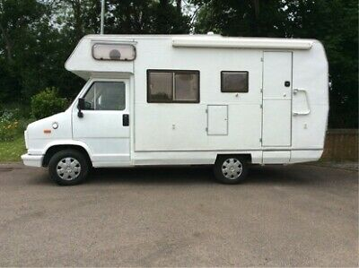 Classic Fiat Ducato Motorhome, 2.5 ltr diesel, 4 Berth, in very good condition