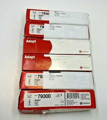 Lot of 6 - Hollister 79300 Adapt Paste 2.1 oz. Exp 04/2020 NEW