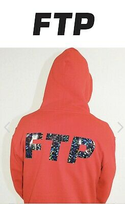 100/% Authentic FTP Fuct Army Men Hoodie Size S