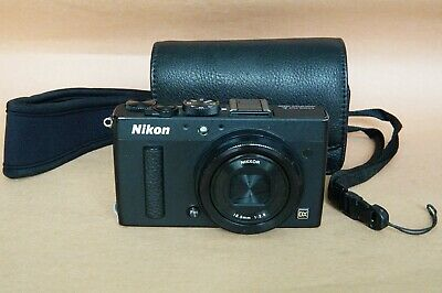 Nikon Coolpix A Apsc 16 Mega Pixel Digital Camera Black With Free Wi-Fi Adapter
