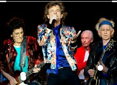 2 ROLLING STONES Cotton Bowl Dallas CLOSE LOWERS Sec 22 row 7