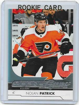 2017-18 UD Upper Deck hockey Nolan Patrick Young Guns RC rookie card FLYERS