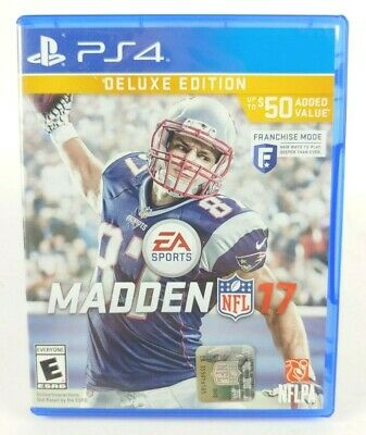 EA Sports Madden NFL 17 Deluxe Edition (PS4)
