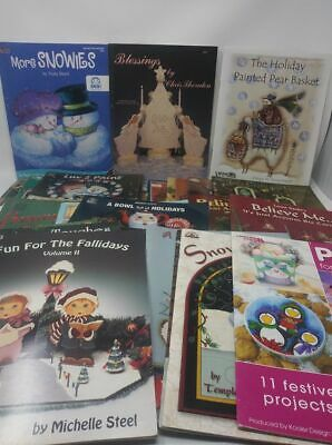 BUY 2 GET 1 SALE Decorative Painting Book Tole Paint Holiday Various Artists #2
