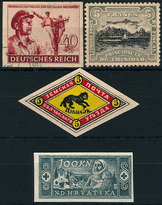 Worldwide, Um/Nh & Used Lot Of Different Forgeries Stamps.   #M554
