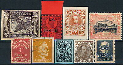 Worldwide, Um/Nh & Used Lot Of Different Forgeries Stamps.   #M555