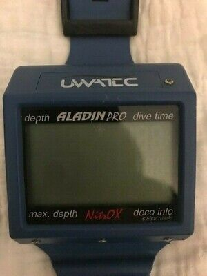 UWATEC Aladin Pro Nitrox Diver Computer, Needs Battery