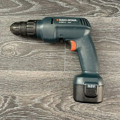 Black&Decker KC9651C 9.6V Drill & Battery ~ No Charger