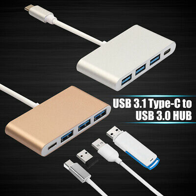 USB 3.1 Type C to USB-C 4K HDMI USB 3.0 Hub Adapter Cable For Macbook Sumsung