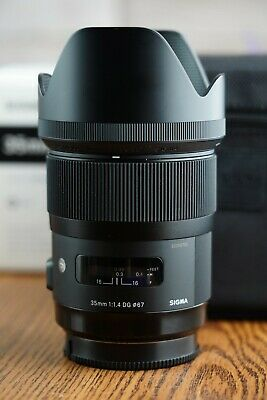 Sigma 35mm f/1.4 Sony A Mount Camera Lens ART Series F1.4 DG