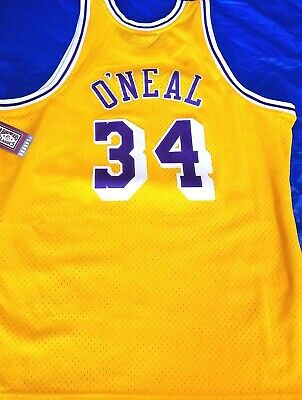 Los Angeles Lakers Shaquille O'Neal 1996-97 Mitchell & Ness Jersey Men's XL/48