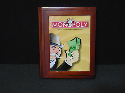 Parker Bros. Vintage Game Collection Monopoly Library Bookshelf Edition Complete