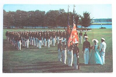 Postcard THE UNITED STATES NAVAL ACADEMY COLOR GIRL, ANNAPOLIS, MARYLAND