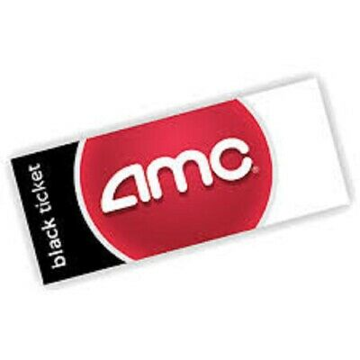 AMC Theaters 1 Black Ticket ONLY (PURCHASE LIMIT 2)