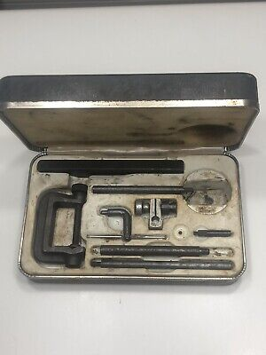 Vintage Sears Craftsman Dial Test Indicator Attachments And Case: No Dial.
