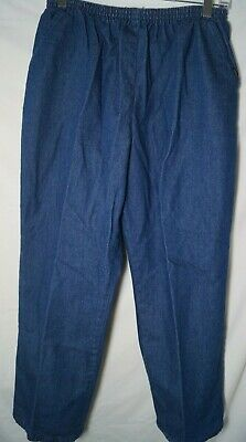 Chic Classic Collection Women's Cotton Pull-on Pant with Elastic Waist 16P
