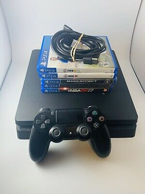 Sony PlayStation 4 Ps4 Slim 500gb Console System Bundle