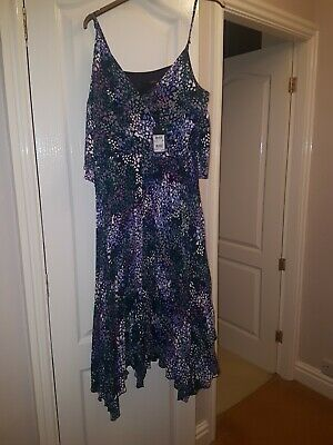 Stunning Next  pleated Dress Party Cruise Wedding Prom Races 14 bnwt rep £78.00