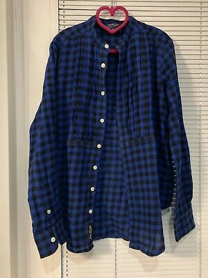 Girls Genuine Ralph Lauren  Blue  Shirt Age 10 Years