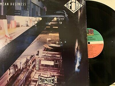The Firm ‎– Mean Business LP 1986 Atlantic ‎– 81628-1-E VG+/EX