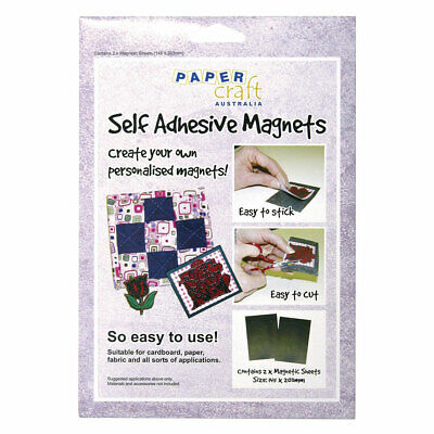 NEW Papercraft Magnet Self Adhesive 2 Pack By Spotlight