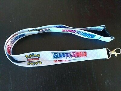 POKEMON Sword And Shield Promotional Lanyard - Official, Brand New, TCG / Switch