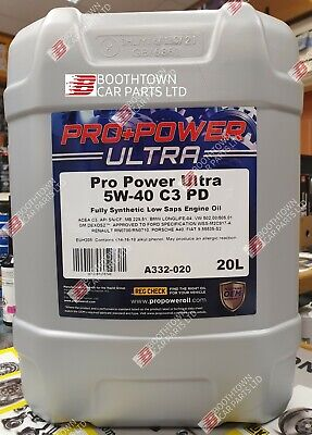 Car Engine Oil Triple QX SynPlus PD SAE 5W40 Fully Synthetic 5L PD Spec 20 Litre