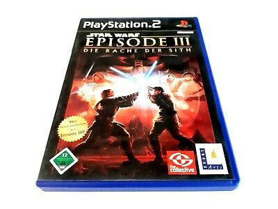 Star Wars: Episode III - Die Rache der Sith *** Sony Playstation 2 *** Ps2