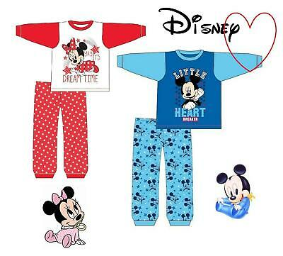 Kids Official Boys Girls Disney Character Pyjama Set
