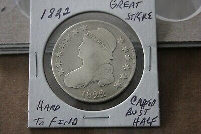 1822   Great Strike   Capped Bust Half Dollar