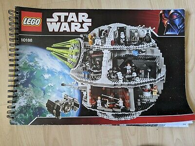 Lego Star Wars 10188 Death Star Instruction Book / Manual. Original Lego book.