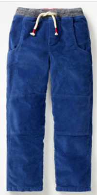 MINI BODEN boys trouser corduroy lined 5 6 years RRP £35+