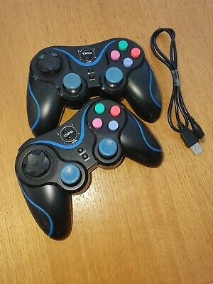 2 x PS3 Wireless Bluetooth Controllers